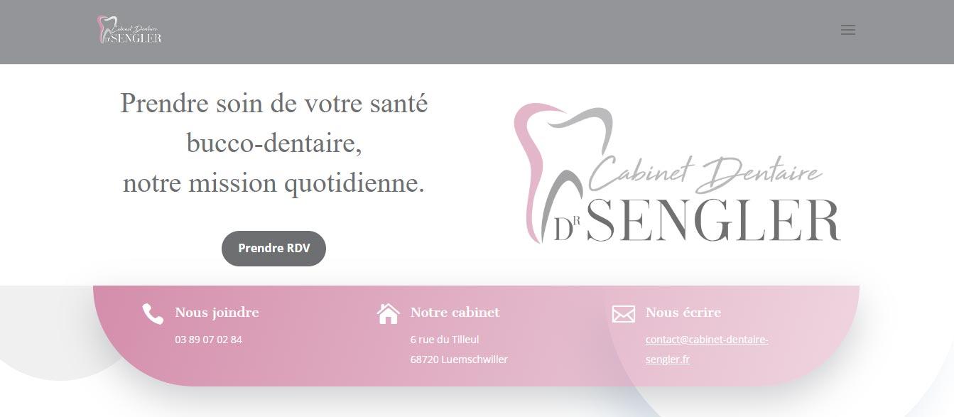 Cabinet Dentaire Sengler - Agence Big Bang Marketing